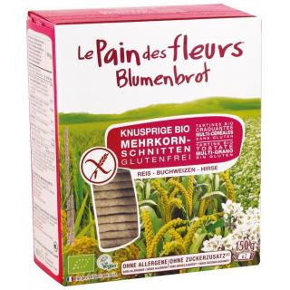 Blumenbrot Blumenbrot Mehrkorn, 2x 75 gr Packung -
