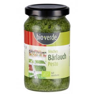 bio-verde Frisches Bärlauch Pesto, 165 gr Glas