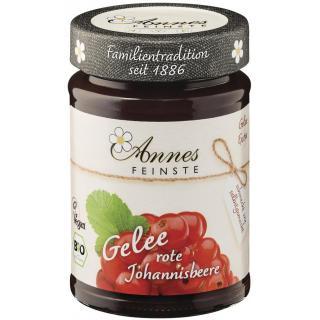 Annes Johannisbeer Gelee extra, 225 gr Glas