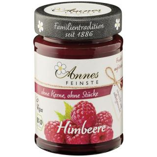 Annes Himbeer Fruchtaufstrich, 210 gr Glas - 55% F