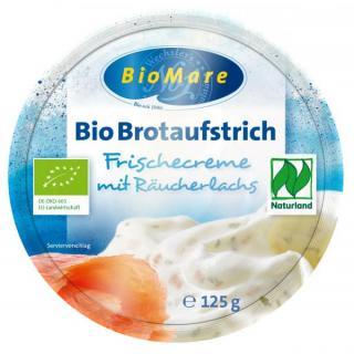 Bio Mare Lachs-Frischecreme, 125 gr Becher