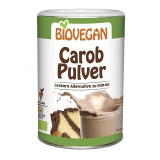 Biovegan Carobpulver, 200 g Dose
