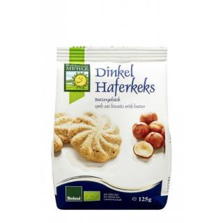 Bohlsener Dinkel-Hafer-Kekse, 125 gr Packung