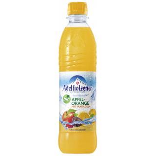 Adelholzener Bio Orange Maracuja,  0,5 ltr Flasche