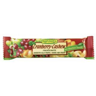 Fruchtschnitte Cranberry-Cashew