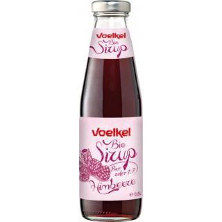 Voelkel Himbeer-Sirup, 0,5 ltr Flasche