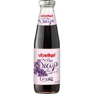 Voelkel Cassis-Sirup, 0,5 ltr Flasche