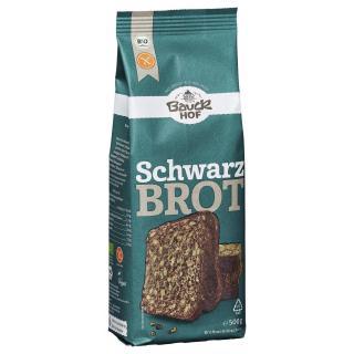 Bauck Hof Schwarzbrot, 500 gr Packung - glutenfrei