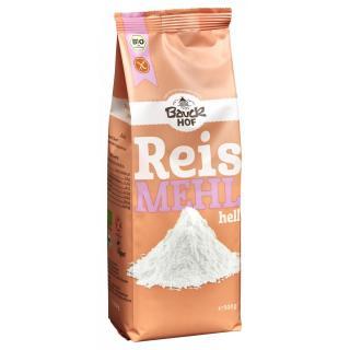 Bauck Hof Reismehl hell, 500 gr Packung - glutenfr