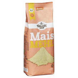 Bauckhof Mais-Vollkorn-Mehl, 500 gr Packung - glut