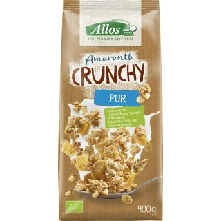 Allos Amaranth Crunchy Pur, 400 gr Packung
