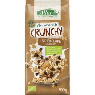 Allos Amaranth Crunchy Schokolade, 400 gr Packung