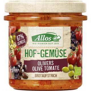 Allos Hofgemüse Oliver`s Tomate Olive, 135 gr Glas