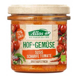 Allos Hofgemüse Susi`s Tomate scharf, 135 gr Glas