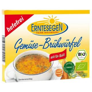 Erntesegen Gemüse Brühwürfel, hefefrei, 66 gr Pack