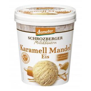 Karamell Mandel Eis