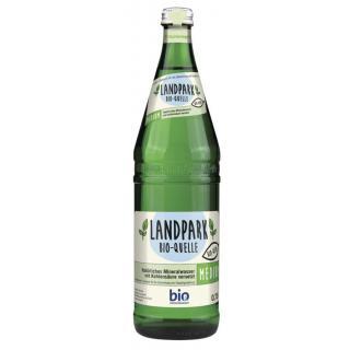 Landpark Bio-Quelle Medium, 0,75 ltr Flasche