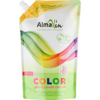 Alma Win Flüssigwaschmittel Color im Ökopack, 1,5