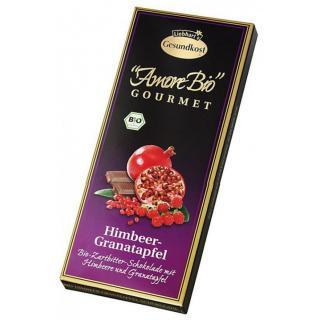 Bio-Himbeer-Granatapfel-Zartbitter 100g