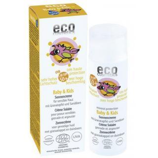eco cosmetics Baby & Kids Sonnencreme LSF 50+mit G