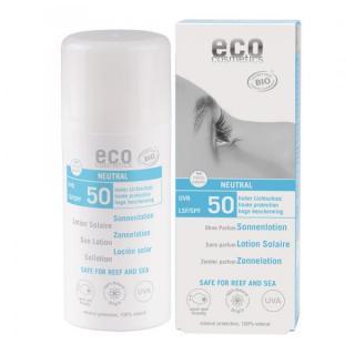 eco cosmetics Sonnenlotion LSF50 neutral, 100 ml T