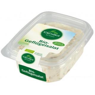 Grünhof Delikatess Geflügelsalat, 125 gr Becher