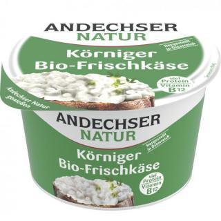 Andechser Natur Körniger Frischkäse , 200 gr  Bech
