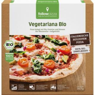 followfood Dinkel-Pizza Vegetariana, 390 gr Schach