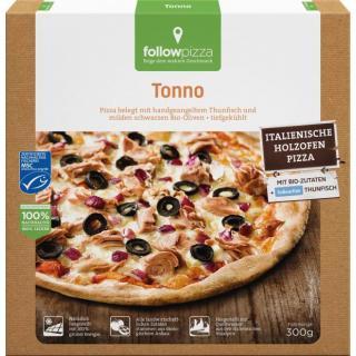 followfish Pizza Thunfisch, 325 gr Packung - liefe