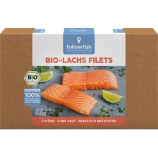 followfish Bio Lachsfilets, 160 gr Packung
