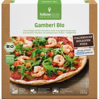 followfish Bio Pizza Garnele0-Ruccola, 350 gr Pack