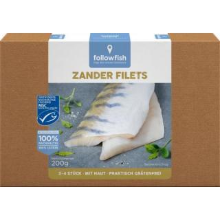 followfish Zander Filets, 200 gr Schachtel