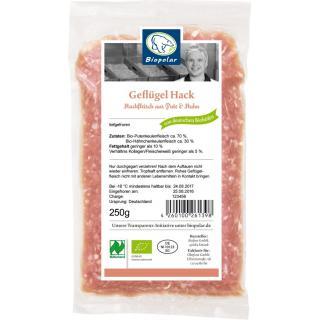 Biopolar Geflügel-Hackfleisch, 250 gr Packung