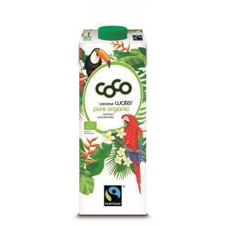 Coco Juice green coconuts pure 1 l