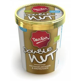 DasEis Double Nut - Eis vegan, 500 ml Becher