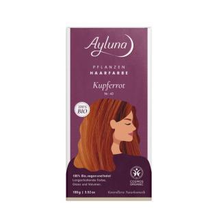 Haarfarbe Kupferrot