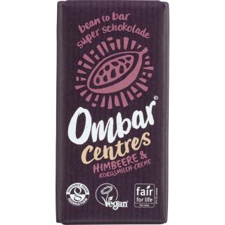 Centres Himbeere & Kokosmilch Ombar 35 g