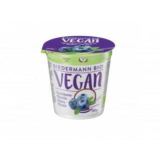 Kokos Heidelbeer Joghurt, vegan