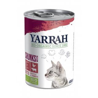 Yarrah Katzenfutter m.Huhn und
