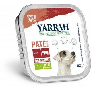 Yarrah Hundefutter Wellness Paté Huhn Seetang, 150