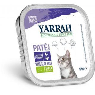 Yarrah Katzenfutter Wellness Paté Huhn und Truthah