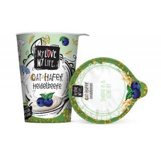 MyLove-MyLife Hafer Heidelbeere, 400 gr Becher