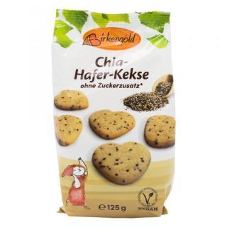 Chia-Hafer-Kekse Birkengold 125 g
